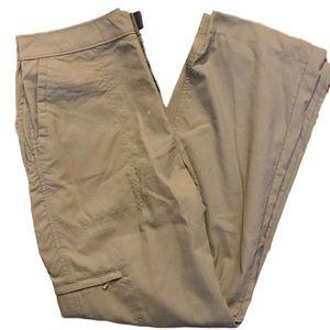 Woolrich nylon pants tan khaki size 10 EUC